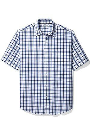 Amazon Regular-Fit Short-Sleeve Plaid Shirt Camisa