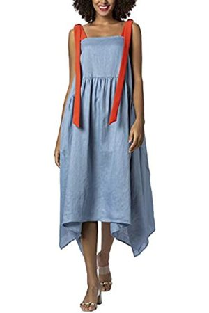Apart Linen Dress Vestido