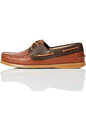 FIND Boat Shoe Náuticos, (Nougat and Brandy)