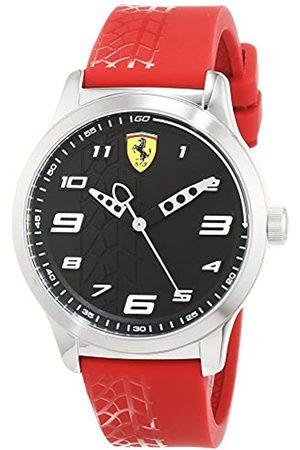 Scuderia Ferrari Reloj Analógico para Niños de Cuarzo con Correa en Silicona 840019