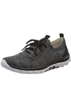 Gabor Shoes Rollingsoft, Zapatillas para Mujer, (Grey/Schwarz 17)