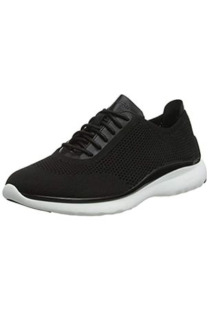 COZ7W|#Cole Haan 3.Zerogrand Stitchlite Oxford, Zapatillas para Mujer, Knit Leather/Black/Optic White
