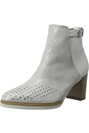 Gabor Shoes Comfort, Botines para Mujer, (Ice/Off-White 92)
