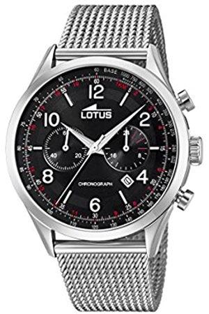 Lotus Reloj Cronógrafo para Hombre de Cuarzo con Correa en Acero Inoxidable 18555/2