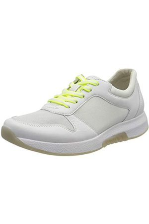 Gabor Shoes Rollingsoft, Zapatillas para Mujer, (Weiss(Se.W/Neogelb 51)