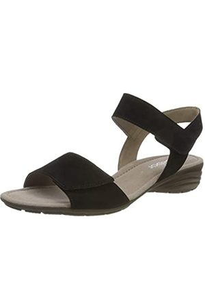 Gabor Shoes Gabor Casual, Sandalia con Pulsera para Mujer, (Schwarz 17)