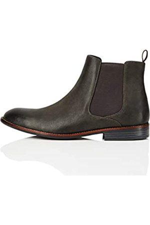 FIND Marca Amazon - FIND Boots Botas Chelsea, (Grey)