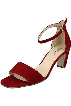 Gabor Shoes Gabor Fashion, Sandalia con Pulsera para Mujer, (Rubin 15)