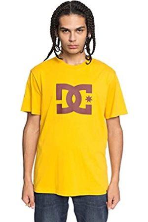 DC EDYZT03721 Camiseta, Hombre, (xyyr Old Gold/Fired BRIC)