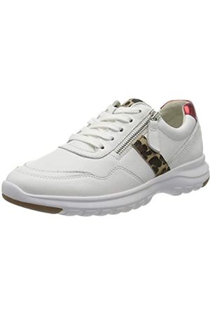 Gabor Shoes Comfort Basic, Zapatillas para Mujer, (Weiss/Natur/Rossol 51)