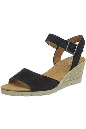 Gabor Shoes Comfort Sport, Sandalia con Pulsera para Mujer, (Ocean (Jute) 66)