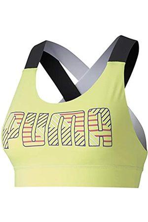 Puma Feel It W Mid Impact Sujetador Deportivo, Mujer
