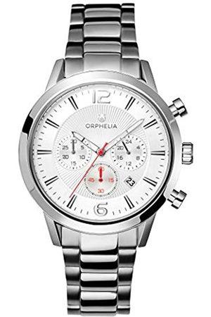 ORPHELIA Reloj Cronógrafo para Hombre de Cuarzo con Correa en Acero Inoxidable OR82806