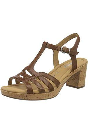 Gabor Shoes Comfort Sport, Sandalia con Pulsera para Mujer, (Peanut (Kork) 54)