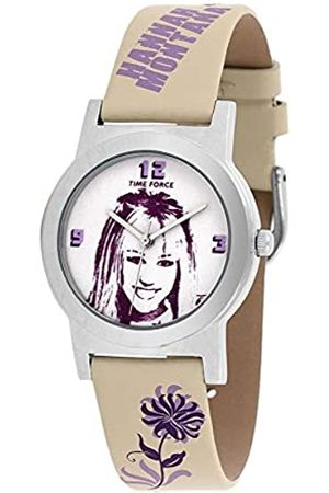Time Force Reloj Analógico para Niños de Cuarzo con Correa en Cuero HM1011