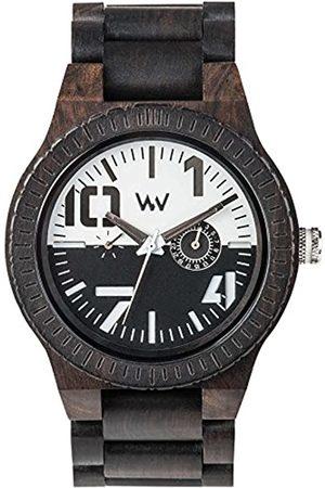 WeWood RelojAnalógicoparaHombredeCuarzoconCorreaenMaderaWW51002