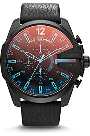 Diesel Reloj Analógico para Hombre de Cuarzo con Correa en Cuero 4053858227095