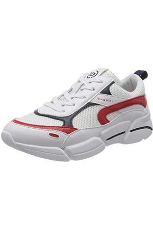 Bugatti 436668015050, Zapatillas para Mujer, (White/Red 2030)
