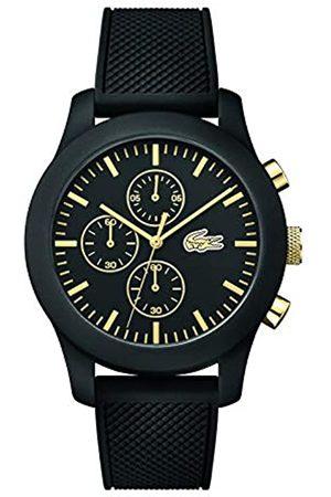 Lacoste 2010826 - Reloj analógico de pulsera para hombre, esfera con cronógrafo, correa de silicona