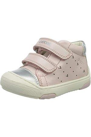 Geox B Jayj Girl D, Zapatillas para Bebés, (Lt Rose/Silver C8237)