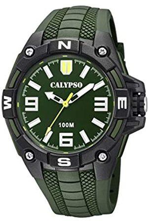 Calypso Reloj Analógico para Hombre de Cuarzo con Correa en Plástico K5761/5