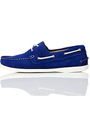 FIND Boat Shoe Náuticos, (Light Blue Suede)