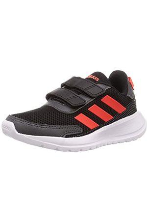 adidas TENSAUR Run C, Zapatillas Running Unisex Infantil, (Core Black/Solar Red/Grey Six)