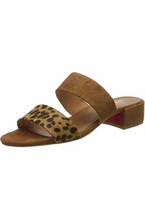 Joules Kayleigh, Zapatos de tacón con Punta Abierta para Mujer, (Leopard Spot Leoprdspt)