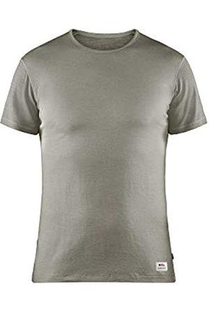 Fjällräven Keb Wool T-Shirt M Camiseta, Hombre, Light Grey/Grey