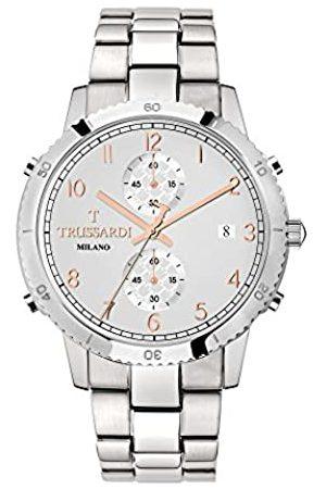 Trussardi RelojCronógrafoparaHombredeCuarzoconCorreaenAceroInoxidableR2473617005
