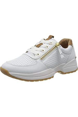 Gabor Shoes Comfort Basic, Zapatillas para Mujer, (Weiss/Cognac(Gepr) 51)