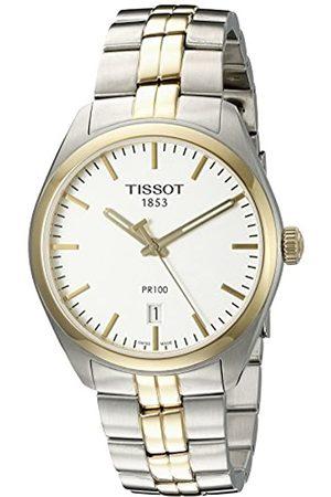 Tissot Reloj Analógico para Hombre de Cuarzo con Correa en Acero Inoxidable T1014102203100