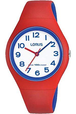 Lorus RelojAnalógicoparaNiñasdeCuarzoconCorreaenSiliconaRRX03GX9