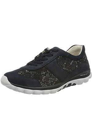 Gabor Shoes Rollingsoft, Zapatillas para Mujer, (Night Blue 36)