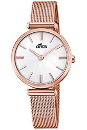 Lotus Reloj Análogo clásico para Mujer de Cuarzo con Correa en Acero Inoxidable 18540/1