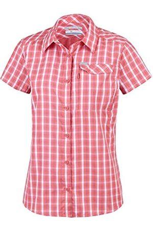Columbia Silver Ridge 2.0 Plaid - Camisa de Manga Corta para Mujer, Mujer