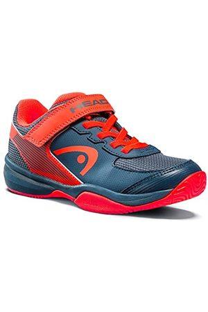 Head Sprint Velcro 3.0 Kids Zapatillas de Tenis, Juventud Unisex, Navy/Neon