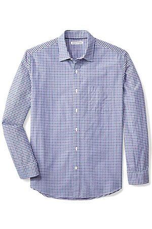 Amazon Regular-Fit Long-Sleeve Gingham Shirt camisa