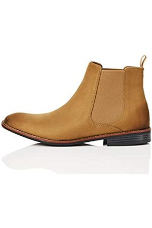 FIND Marca Amazon - FIND Boots Botas Chelsea, (Sand)