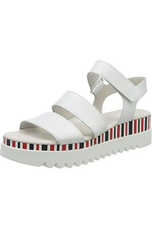 Gabor Shoes Gabor Casual, Sandalia con Pulsera para Mujer, (Weiss (Marine/Pink) 20)