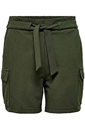 Only ONLPOPTRASH Cargo Belt Shorts PNT Pantalones Cortos L para Mujer
