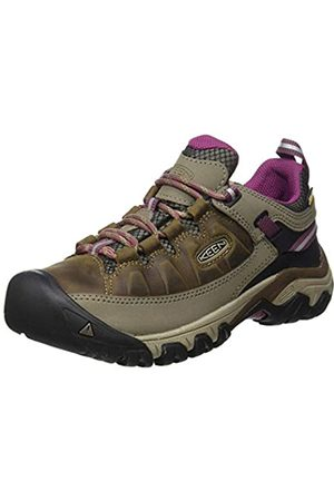 Keen Targhee III Waterproof, Zapatos de Low Rise Senderismo para Mujer, (Weiss/Boysenberry 0)
