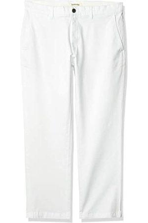 Goodthreads Marca Amazon - Pantalón chino de corte recto, lavado, cómodo y elástico para hombre