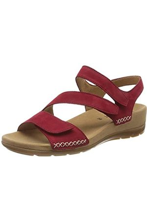 Gabor Shoes Gabor Jollys, Sandalia con Pulsera para Mujer, (Rubin 35)
