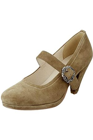 Hirschkogel by Andrea Conti 3005717, Zapatos de Tacón para Mujer, (Khaki 046)