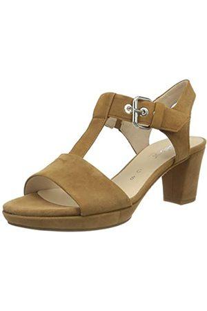 Gabor Shoes Comfort Fashion, Sandalia con Pulsera para Mujer, (Sattel 45)