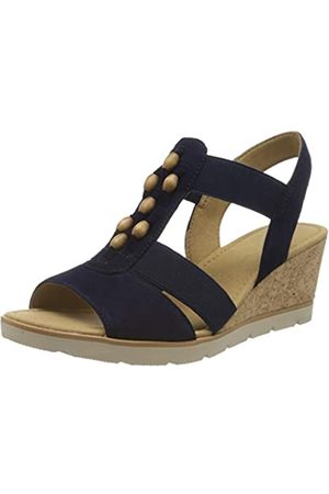Gabor Shoes Gabor Basic, Sandalia con Pulsera para Mujer, (Bluette 16)