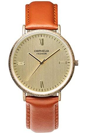 ORPHELIA Fashion Reloj de Pulsera para Hombre Analógico Alium Con correa de cuero
