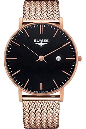 ELYSEE Reloj Analógico para Unisex Adultos de Cuarzo con Correa en Acero Inoxidable 98005M