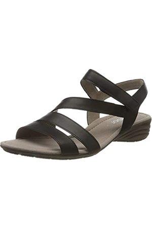 Gabor Shoes Gabor Casual, Sandalia con Pulsera para Mujer, (Schwarz 27)